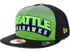 Seattle Seahawks New Era NFL Dotflective 9FIFTY Snapback Cap Adjustable Hats