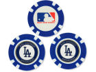 Los Angeles Dodgers Team Golf Golf Poker Chip Markers 3 Pack Toys & Games