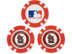 St. Louis Cardinals Team Golf Golf Poker Chip Markers 3 Pack Toys & Games