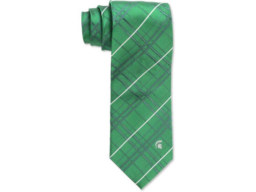 Michigan State Spartans Eagles Wings Oxford Woven Tie