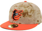 Baltimore Orioles New Era MLB 2014 Memorial Day Stars and Stripes 59FIFTY Cap Fitted Hats
