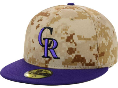 Colorado Rockies 2014 MLB AC Memorial Stars & Stripes 59FIFTY Cap Hats