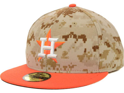 Houston Astros 2014 MLB AC Memorial Stars & Stripes 59FIFTY Cap Hats
