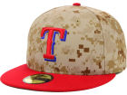 Texas Rangers New Era 2014 MLB AC Memorial Stars & Stripes 59FIFTY Cap Fitted Hats