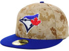 Toronto Blue Jays unofficial New Era MLB 2014 Memorial Day Stars and Stripes 59FIFTY Cap Fitted Hats
