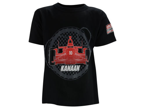 Tony Kanaan Ganassi Youth Wire Frame T-Shirt