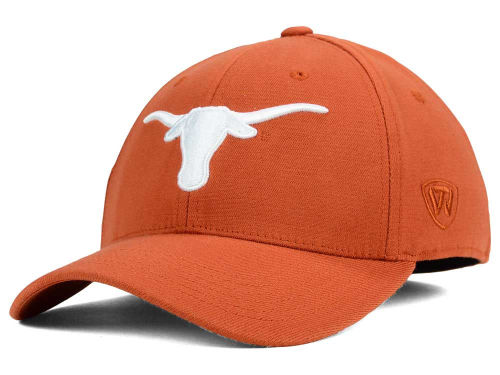 Texas Longhorns Top of the World NCAA Memory Fit PC Cap Hats