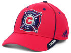 Chicago Fire adidas MLS Mid Fielder Cap Stretch Fitted Hats
