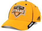 Houston Dynamo adidas MLS Mid Fielder Cap Stretch Fitted Hats