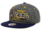 Indiana Pacers Mitchell and Ness NBA E-Print Tailsweep Snapback Cap Adjustable Hats