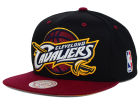 Cleveland Cavaliers Mitchell and Ness NBA Undertime Snapback Cap Adjustable Hats