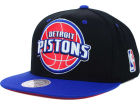Detroit Pistons Mitchell and Ness NBA Undertime Snapback Cap Adjustable Hats
