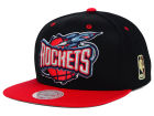 Houston Rockets Mitchell and Ness NBA Undertime Snapback Cap Adjustable Hats