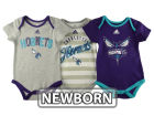 Charlotte Hornets adidas NBA Newborn 3 Point Play Creeper Set Outfits