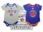 New York Knicks adidas NBA Newborn 3 Point Play Creeper Set Outfits
