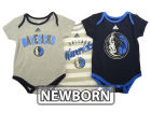 Dallas Mavericks adidas NBA Newborn 3 Point Play Creeper Set Outfits