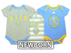 Denver Nuggets adidas NBA Newborn 3 Point Play Creeper Set Outfits