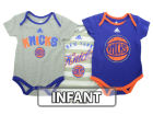 New York Knicks adidas NBA Infant 3 Point Play Bodysuit Set Outfits