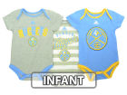 Denver Nuggets adidas NBA Infant 3 Point Play Bodysuit Set Outfits