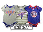 Detroit Pistons adidas NBA Infant 3 Point Play Bodysuit Set Outfits
