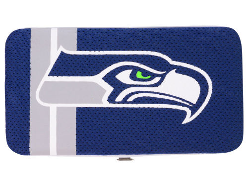 Seattle Seahawks Little Earth Shell Mesh Wallet