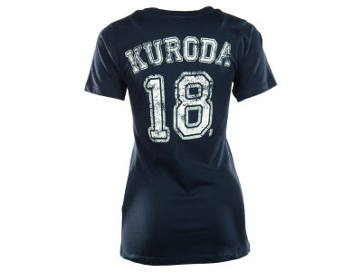 New York Yankees Hiroki Kuroda MLB Women's Sugar Player T-Shirt