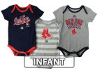 Boston Red Sox Majestic MLB Infant Triple Play 3 Piece Bodysuit Set 14 Infant Apparel