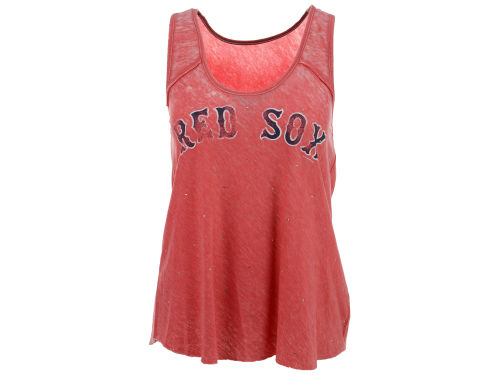 Boston Red Sox G3 Sports MLB Women's Over Dyed Tank