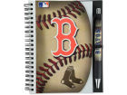 Boston Red Sox 5x7 Spiral Notebook And Pen Set Home Office & School Supplies