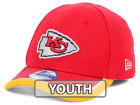 Kansas City Chiefs New Era NFL 2014 Kids On Field 39THIRTY Cap Stretch Fitted Hats
