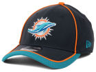 Miami Dolphins New Era NFL 2014 On Field Graphite 39THIRTY Cap Stretch Fitted Hats