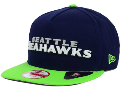 Seattle Seahawks NFL Flip Up Team Redux 9FIFTY Snapback Cap Hats