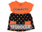 Oklahoma State Cowboys Klutch College NCAA Toddler Polka Dot Dress Dresses