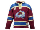 Colorado Avalanche Old Time Hockey NHL Lace Jersey Hoodies