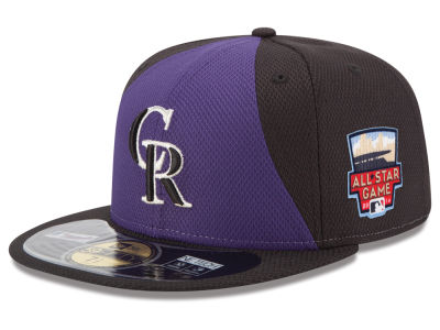 Colorado Rockies MLB 2014 All Star Game Patch 59FIFTY Cap Hats