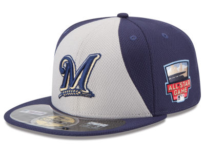 Milwaukee Brewers MLB 2014 All Star Game Patch 59FIFTY Cap Hats