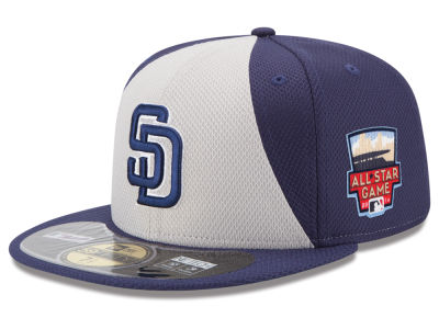 San Diego Padres MLB 2014 All Star Game Patch 59FIFTY Cap Hats