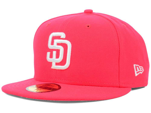 San Diego Padres New Era MLB C-Dub 59FIFTY Cap Hats