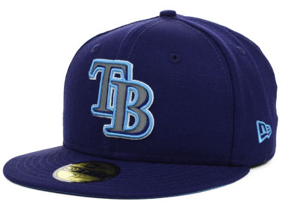 Tampa Bay Rays MLB Team Reflective 59FIFTY Cap Hats
