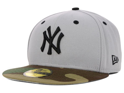 New York Yankees MLB Color Woodland 59FIFTY Cap Hats