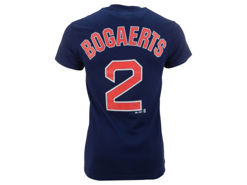 Boston Red Sox Xander Bogaerts Majestic MLB Men's Official Player T-Shirt