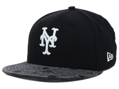 New York Mets MLB Reflective Viz 59FIFTY Cap Hats