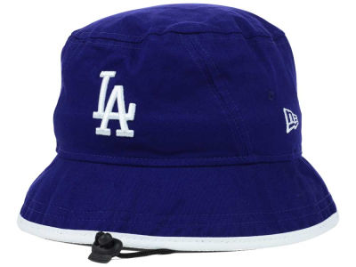 Los Angeles Dodgers MLB Basic Tipped Bucket Hats