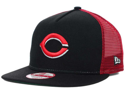 Cincinnati Reds MLB Team Basic Trucker A-Frame 9FIFTY Snapback Cap Hats