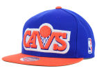 Cleveland Cavaliers Mitchell and Ness NBA XL Logo Snapback Cap Hats