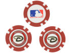 Arizona Diamondbacks Team Golf Golf Poker Chip Markers 3 Pack Toys & Games