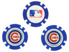 Chicago Cubs Team Golf Golf Poker Chip Markers 3 Pack Toys & Games
