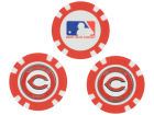 Cincinnati Reds Team Golf Golf Poker Chip Markers 3 Pack Toys & Games