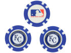Kansas City Royals Team Golf Golf Poker Chip Markers 3 Pack Toys & Games