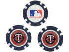 Minnesota Twins Team Golf Golf Poker Chip Markers 3 Pack Toys & Games